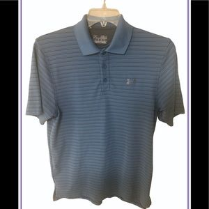 Under Armour Loose Fit Heat Gear Polo Golf Shirt